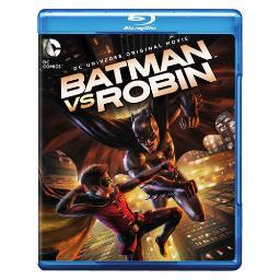 Batman vs robin (blu-ray/dvd/digital hd/uv/2 disc/animated/dc universe mov) BR452059