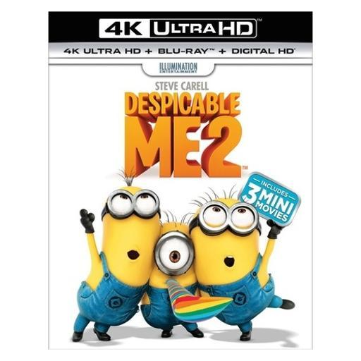 Despicable me 2 (blu-ray/4kuhd/ultraviolet/digital hd)