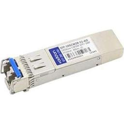 Add-On-Computer Peripherals SFP-10GCWZR-51-AO 1510 nm MRV Compatible Small Form-Factor Pluggable Plus XCVR Transceiver