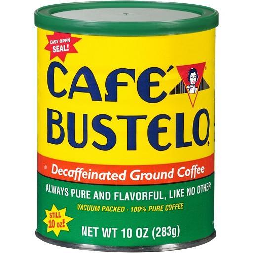 Cafe Bustelo Ground Decaf Coffee F180ABF100AEB1E3