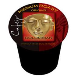 Cafejo K-CJ-COL-1-24 Colombian Roast K-Cups for Keurig Brewers