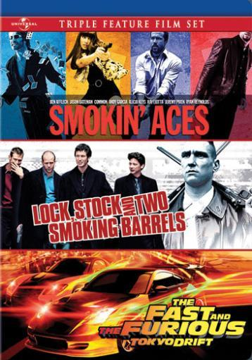 Smokin aces/lock stock & two smoking barrels/fast & furious-nla TMXPGZQLIOEBFQCC