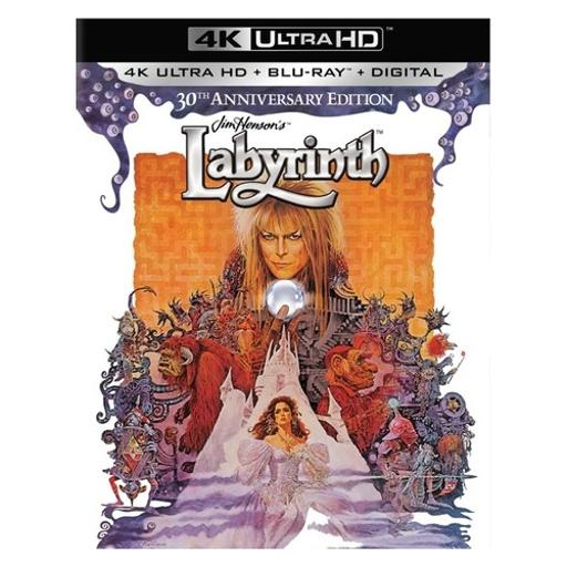 Labyrinth 30th anniversary (blu-ray/4k-uhd mastered/ultraviolet) LAEQYLTDCYUTVH59