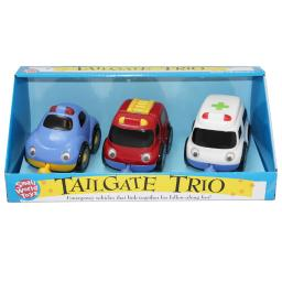 Small world toys tailgate trios emergency 7401803