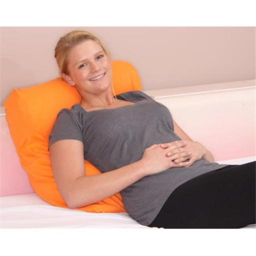 Living Health Products RBP-002-21P Jersey Knit Bed Pillow Cover, Pumpkin Orange