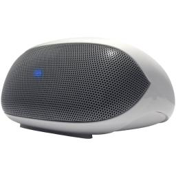 At&t(r) bts01-wh portable wireless speaker & speakerphone