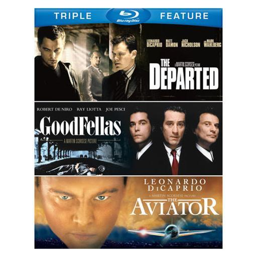 Departed/goodfellas/aviator (blu-ray/3 disc/tfe) DMBLNXBPANKLPYMG