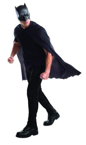 Adult Batman Cape with Mask Superman Dawn of Justice DC Costume Accessory