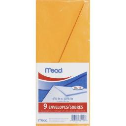 Mead Products 76130 Mead Products 76130 Letter Size Heavyweight Kraft Envelope 9 Count