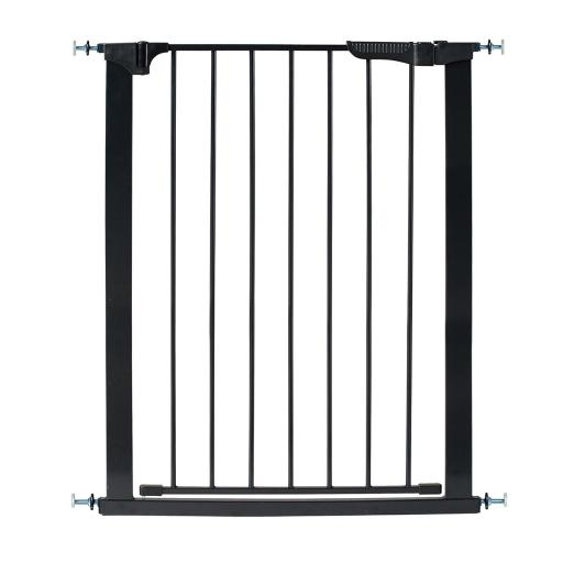 Kidco g1201 black kidco tall and wide auto close gateway pressure mounted pet gate black 29 - 47.5 x 36