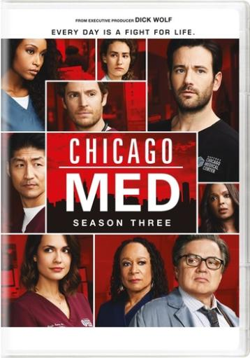 Chicago med-season 3 (dvd) (5discs)