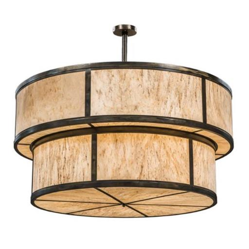 2nd Ave Lighting 202969-1.ND 36 x 72 in. Jayne Pendant, Light Burnished Antique Copper - 18 Bulbs
