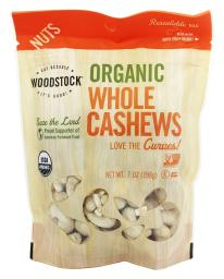 Woodstock Farms - Organic Whole Large Cashews Unsalted