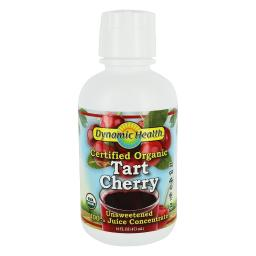 Dynamic Health - Certified Organic Tart Cherry 100% Juice Concentrate Unsweetened - 16 fl. oz.