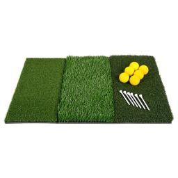 Orlimar Golf Triple Surface Synthetic Turf Practice Mat,  Brand New