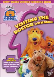 Bear in the big blue house  visiting the doctor with bear (dvd)