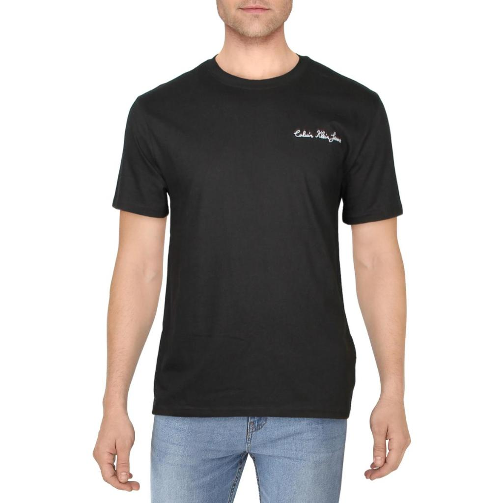 Calvin Klein Jeans Mens Cotton Logo T-Shirt