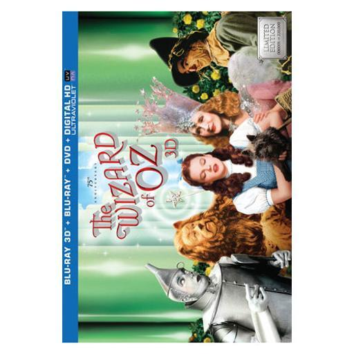 Wizard of oz-75th anniversary (blu-ray/dvd/3-d/4 disc/ult collect) (3-d) T0OUT0QBHLELWOOR