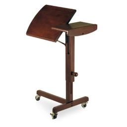 Winsome 94423 Antique Walnut Beechwood CART ADJUSTABLE HEIGHT AND SWING TOP