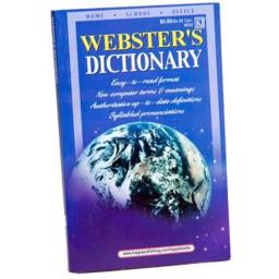 DDI 396011 Webster's Dictionary Case of 96