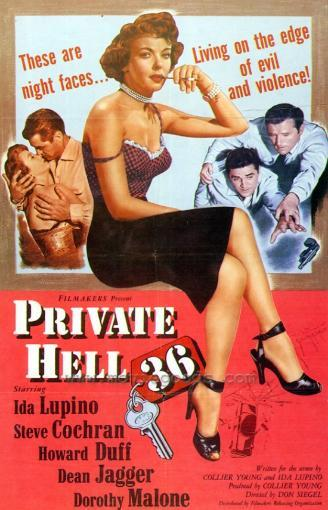 Private Hell 36 Movie Poster Print (27 x 40) 710173