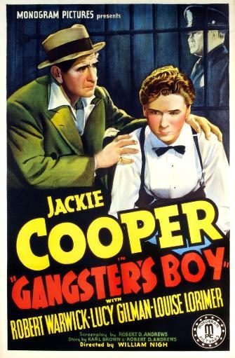 Gangster'S Boy Us Poster Art Foreground From Left: Robert Warwick Jackie Cooper 1938 Movie Poster Masterprint