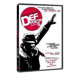 Def Poetry - Season 5 (2002) DVD Mos Def, Russell Simmons, Alicia Keys