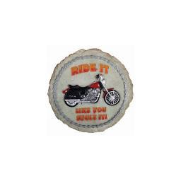 Spoontiques 12939 9 stepping stone  motorcycle