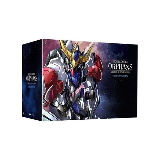 Mobile suit gundam-iron blooded orphans-season 2-limited(blu-ray/dvd combo)