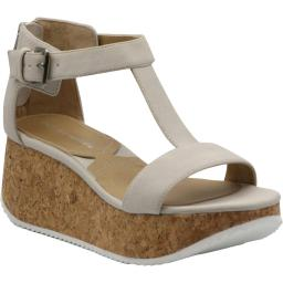 Adrienne Vittadini Womens Chaps Faux Suede Ankle Strap Wedges