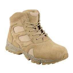 "Rothco 5368 6"" Desert Tan Forced Entry Deployment Boot 5368"