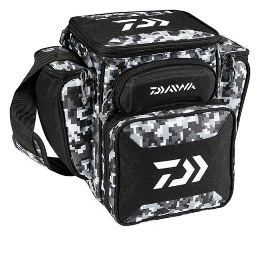 Daiwa dttb-60 daiwa d-vec tactical med soft sided tackle box 9inx13inx14in thumbnail