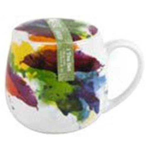 Konitz 43 5 143 1694 Tea for One on Color Flow Mugs with Seive & Lid - Set of 3