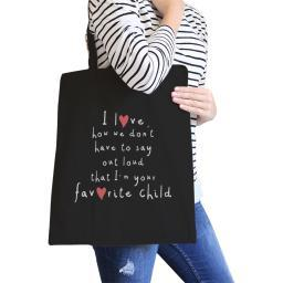Favorite Daughter Black Canvas Shoulder Bag Super Cute Design