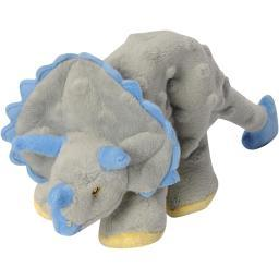goDog Dinos Frills with Chew Guard Small Gray