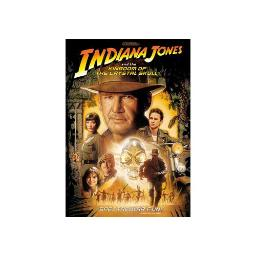 INDIANA JONES & THE KINGDOM OF THE CRYSTAL SKULL (DVD) 97363418641