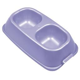VAN NESS PLASTIC MOLDING HEAVYWEIGHT DOUBLE DISH LARGE/64 OZ ASSORTED 224499