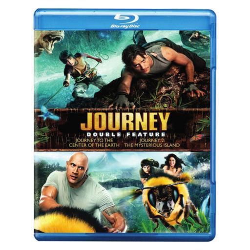 Journey to center of earth/journey 2-mysterious island (blu-ray/dbfe) 1289107