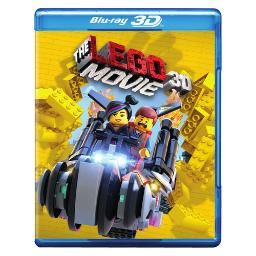 Lego movie (blu-ray/3d/dvd/3 disc) (3-d) BR582717