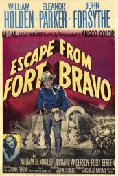 Escape from Fort Bravo Movie Poster Print (27 x 40) MOVIF2322