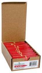 Plant Stake Labels - Colored Plant Stake Labels Red 4''x5/8