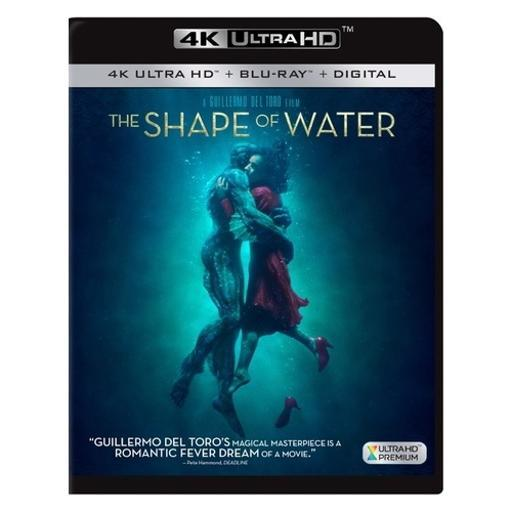 Shape of water (blu-ray/4k-uhd/digital hd) JRTSPIJJ4URLUKGT