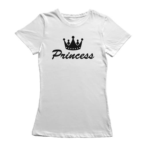 Princess Crown Icon Graphic Tee - Image by Shutterstock FB0YJC48NCW470TP