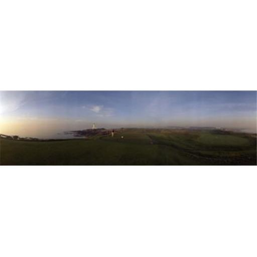 Panoramic Images PPI52881L Golf course with a lighthouse in the background Turnberry South Ayrshire Scotland Poster Print by Panoramic Images - 36