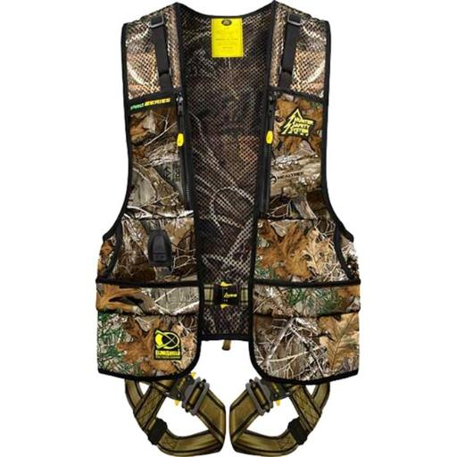 Hunter Safety System HSSPROR2 Pro Series Safety Harness, Realtree Edge with Elimishield - Small & Medium