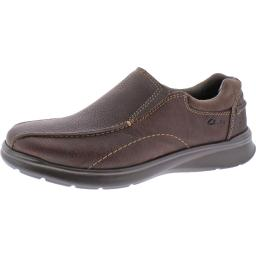 CLARKS Mens Cotrell step Leather Lace Up Casual Oxfords