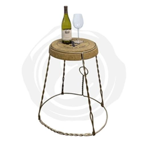 Epicureanist EP-CKTBL02 Champagne Cork Table - Metal