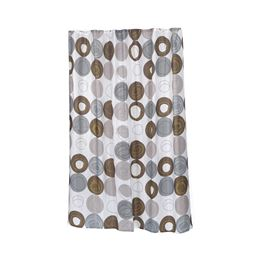 Carnation Home Fashions Extra Long Madison Fabric Shower Curtain