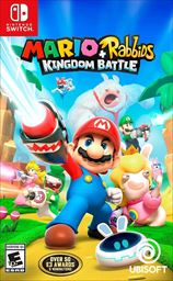 Mario Rabbids Kingdom Battle Nintendo Switch Video Game