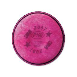 Particulate Filter 2097/07184/P100 Nuisance Level Organic Vapor Relief 2 Per Pack   1 Pack of: 2